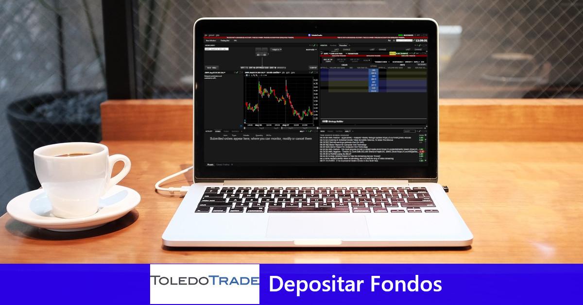 ToledoTrade: Depositar Fondos