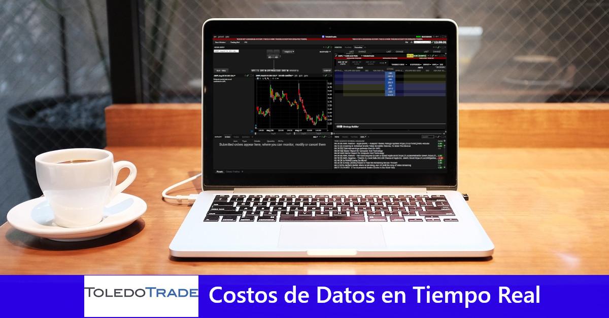 ToledoTrade: Costos de datos en tiempo real y simulador de inversiones
