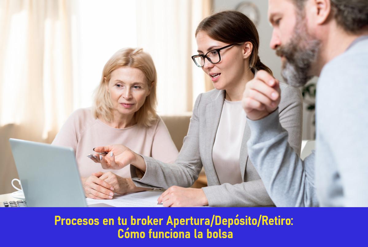 Cómo Aperturat/Depositar/Retirar en tu broker