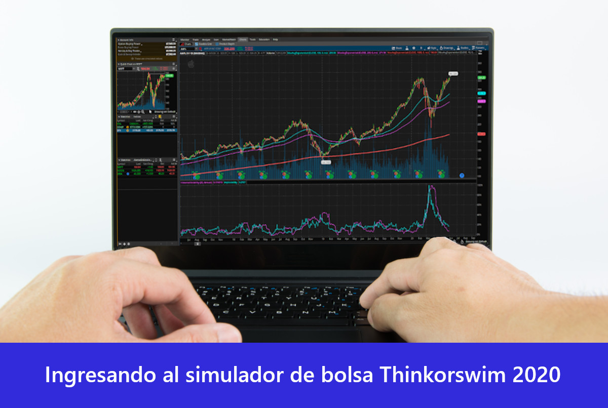 Ingresando al simulador de bolsa Thinorswim 2020