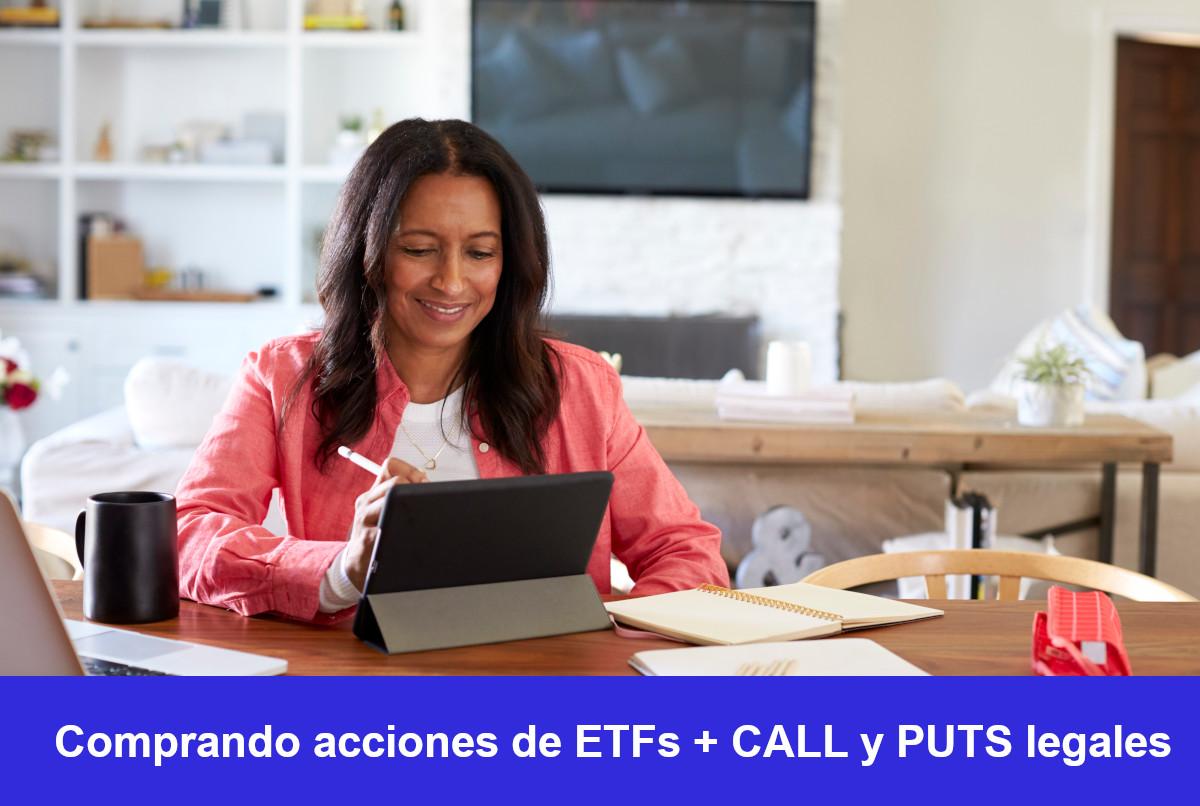 Comprar opciones financieras CALL y PUTS en automático